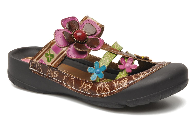 Laura Vita Phenix Violet - Chaussures Sandale Femme