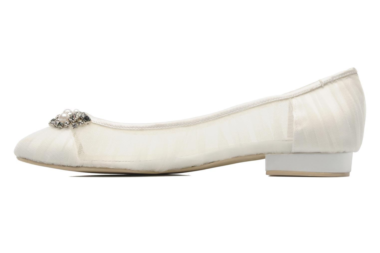 Ballet pumps Menbur Frida White front view