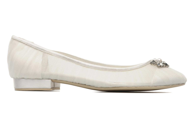 Ballet pumps Menbur Frida White back view