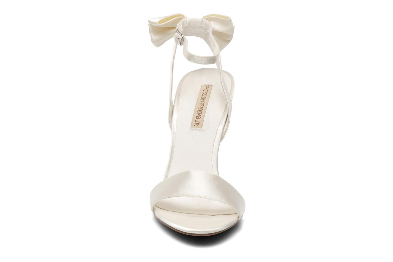 Sandalen Menbur Belli weiß schuhe getragen
