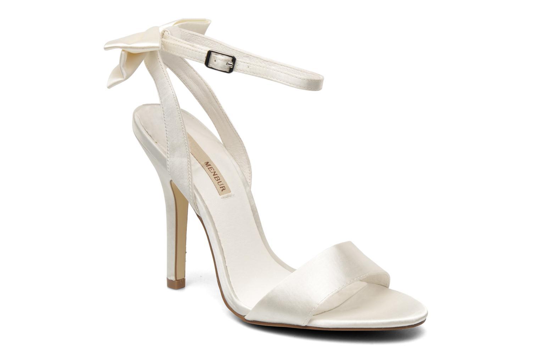 Sandaler Menbur Belli Hvid detaljeret billede af skoene