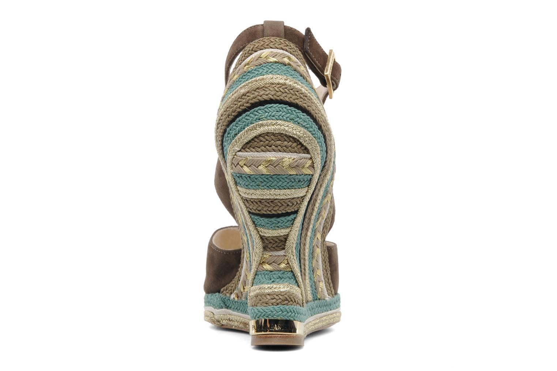Sandales et nu-pieds Paloma Barcelo Mima Marron vue droite