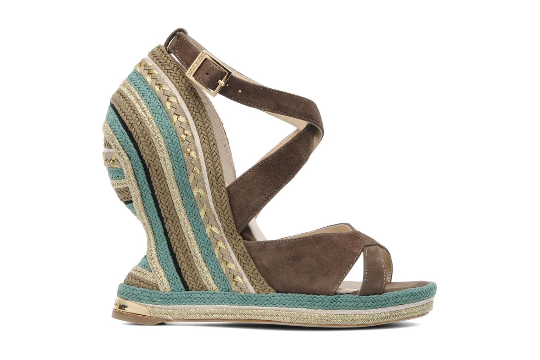 Sandales et nu-pieds Paloma Barcelo Mima Marron vue derrière