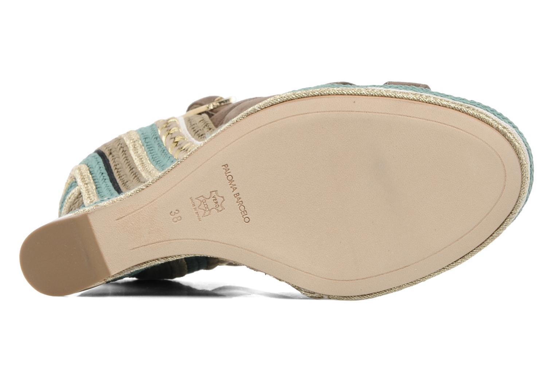 Sandales et nu-pieds Paloma Barcelo Mima Marron vue haut