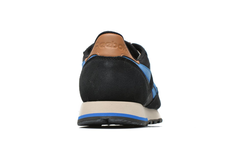 Baskets Reebok Classic Leather Utility Bleu vue droite