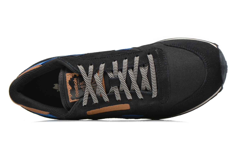 Baskets Reebok Classic Leather Utility Bleu vue gauche