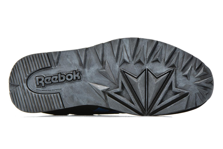 Baskets Reebok Classic Leather Utility Bleu vue haut