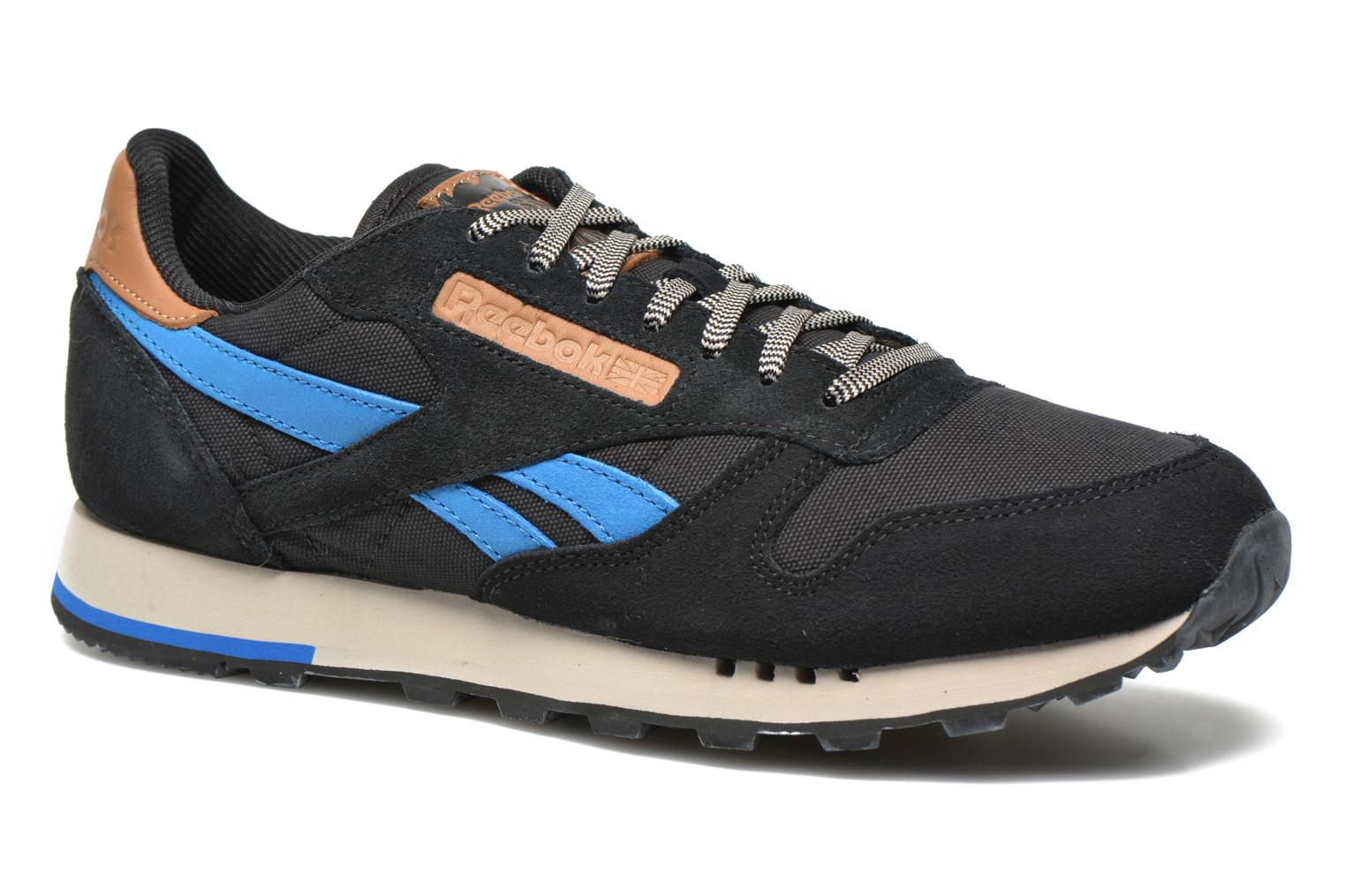 Classic Leather Utility Black/Blue Sport/Stucco