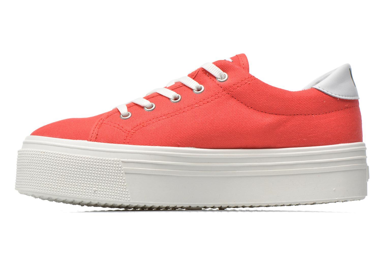 Sneaker No Box Alma rot ansicht von vorne