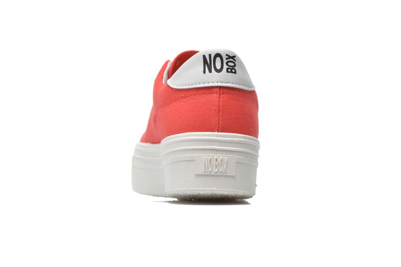 Sneaker No Box Alma rot ansicht von rechts