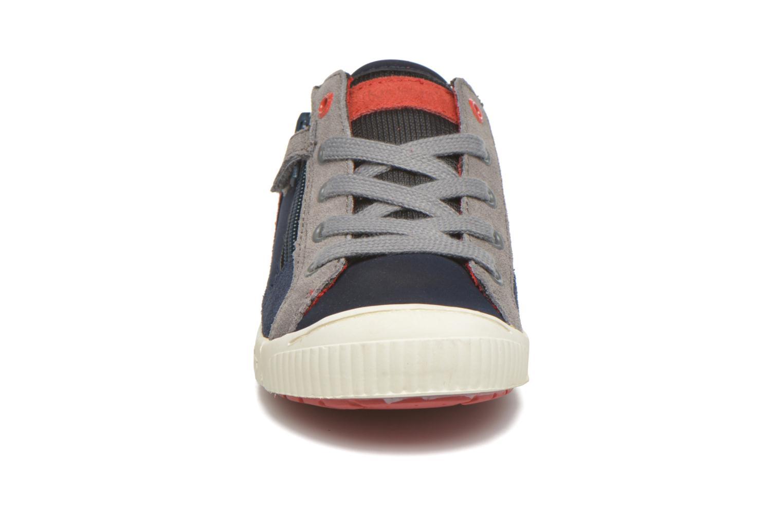 Sneakers Kickers Zigzaguer Blauw model