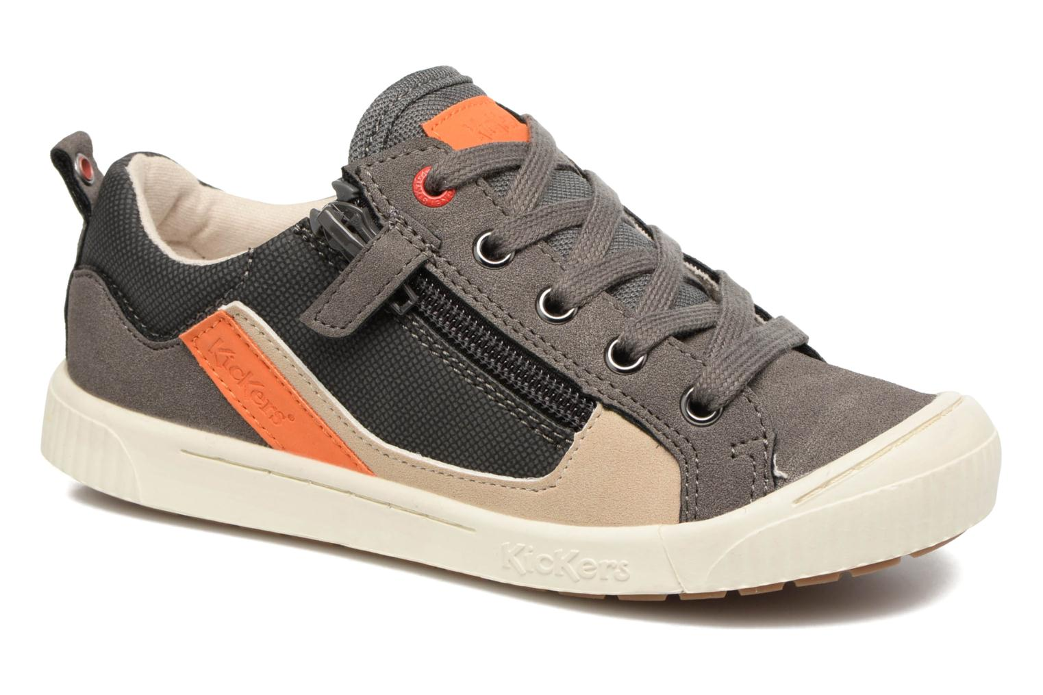Zigzaguer Gris Orange