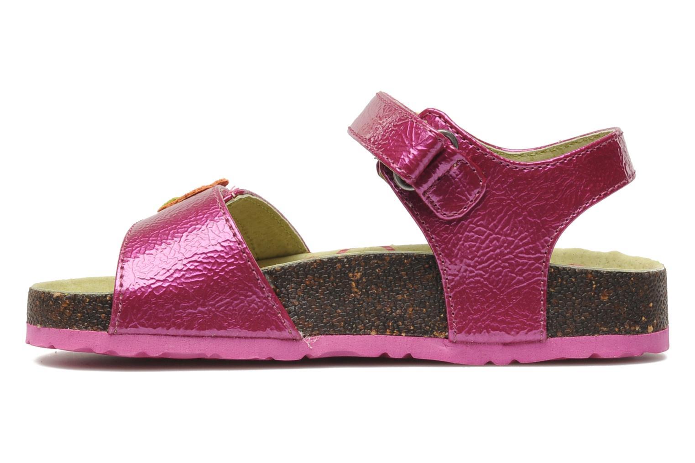 Sandalen Kickers Magiflower Paars voorkant