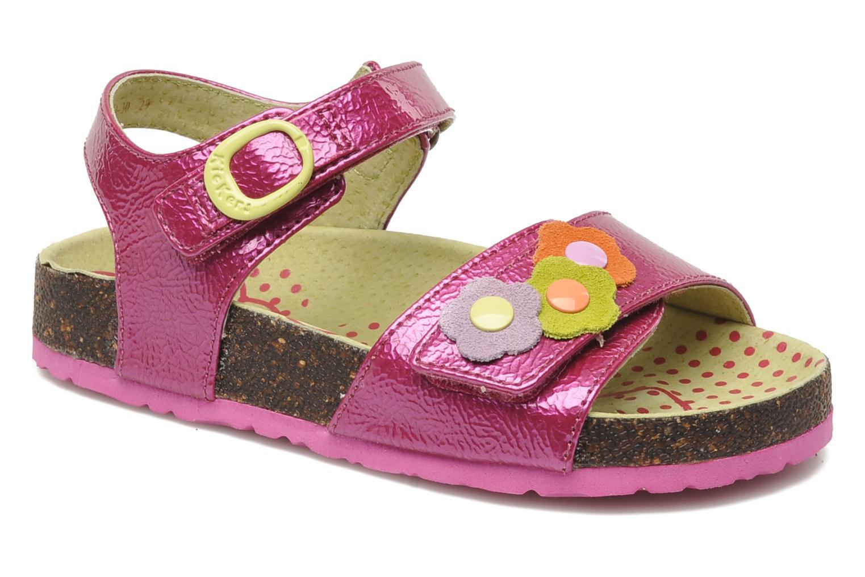 Sandalen Kickers Magiflower Paars detail