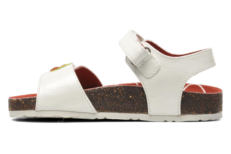 Sandales et nu-pieds Kickers Magiflower Blanc vue face