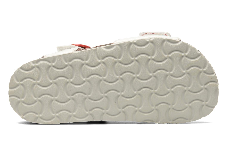 Sandales et nu-pieds Kickers Magiflower Blanc vue haut
