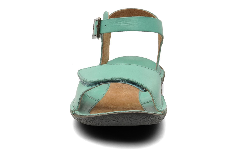 Sandalen Kickers Pepsi grün schuhe getragen