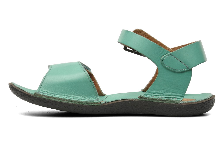 Sandalen Kickers Pepsi grün ansicht von vorne