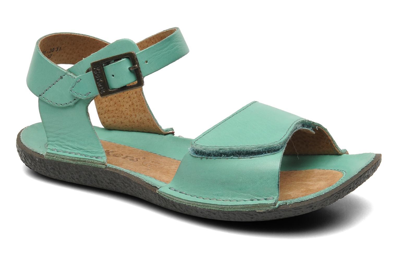 Sandalen Kickers Pepsi Groen detail
