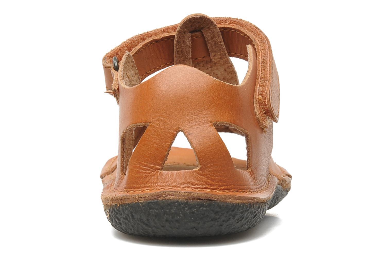Sandales et nu-pieds Kickers Pipo Marron vue droite