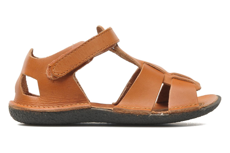Sandales et nu-pieds Kickers Pipo Marron vue derrière