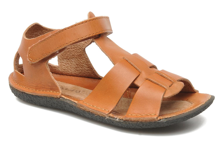 Sandales et nu-pieds Kickers Pipo Marron vue détail/paire