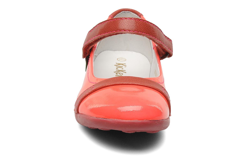 Ballerines Kickers Arcadia Rose vue portées chaussures