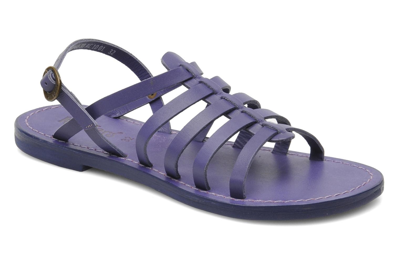 Sandalen Kickers Dixmillion lila detaillierte ansicht/modell
