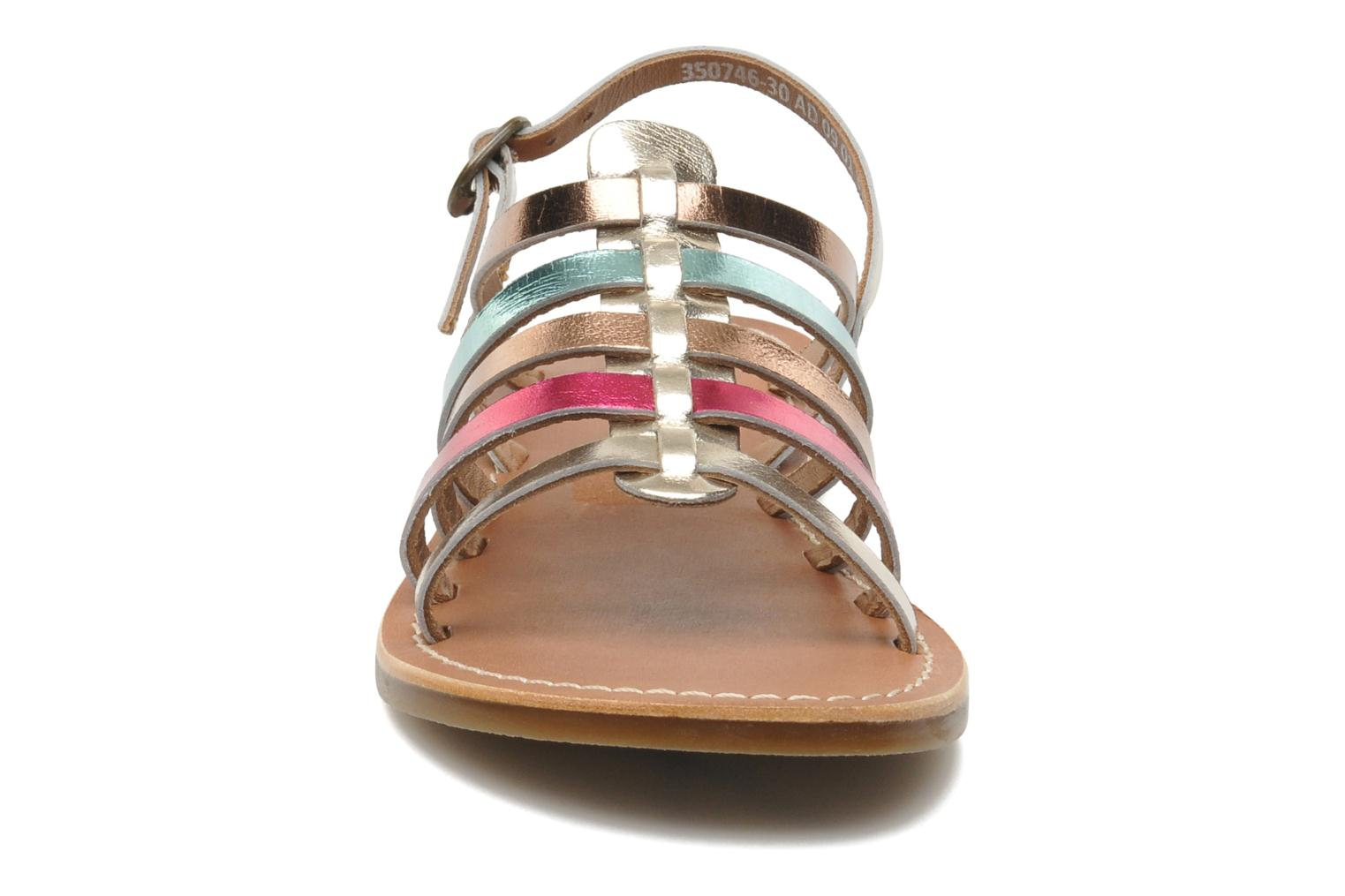 Sandalen Kickers Dixmillion Goud en brons model