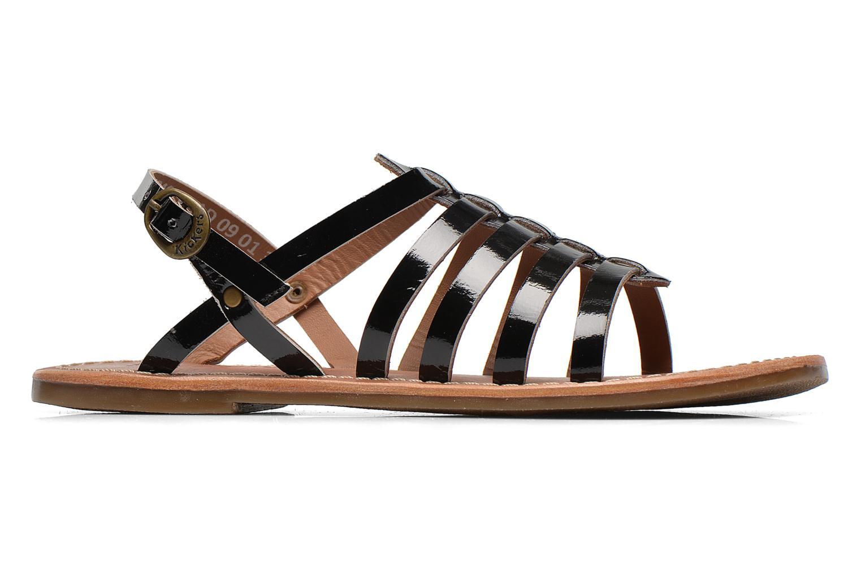 Sandalen Kickers Dixmillion schwarz ansicht von hinten
