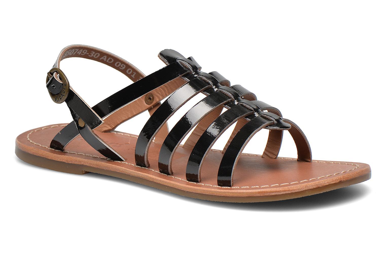 Sandalen Kickers Dixmillion Zwart detail