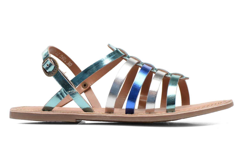 Sandales et nu-pieds Kickers Dixmillion Bleu vue derrière