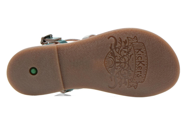 Sandaler Kickers Dixmillion Blå se foroven