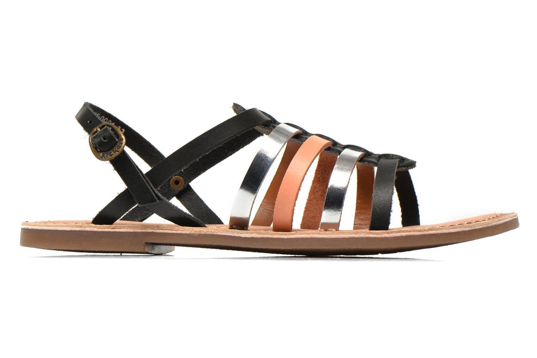 Sandales et nu-pieds Kickers Dixmillion Noir vue derrière