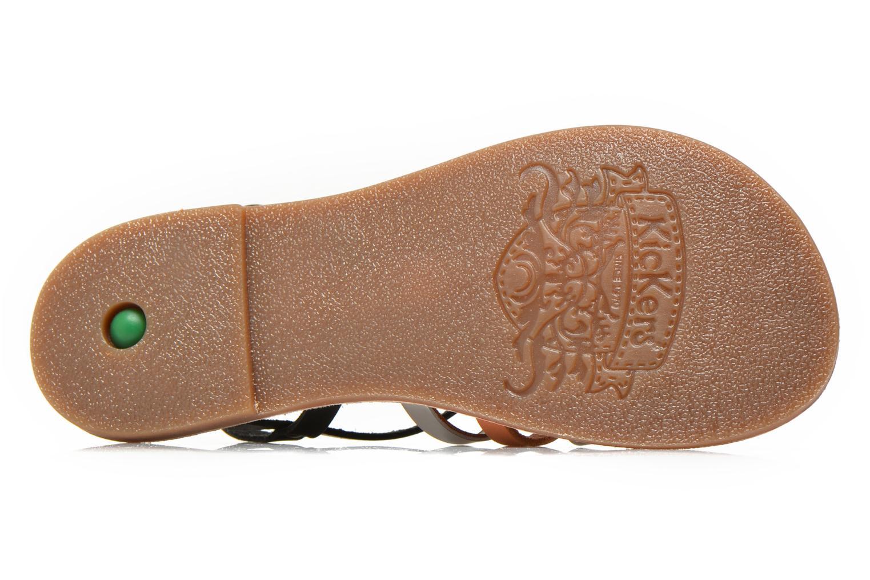 Sandaler Kickers Dixmillion Sort se foroven