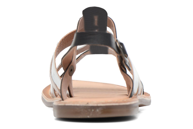 Sandaler Kickers Dixmillion Sort Se fra højre