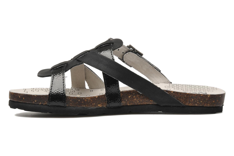 Sandales et nu-pieds Kickers Dolia Noir vue face