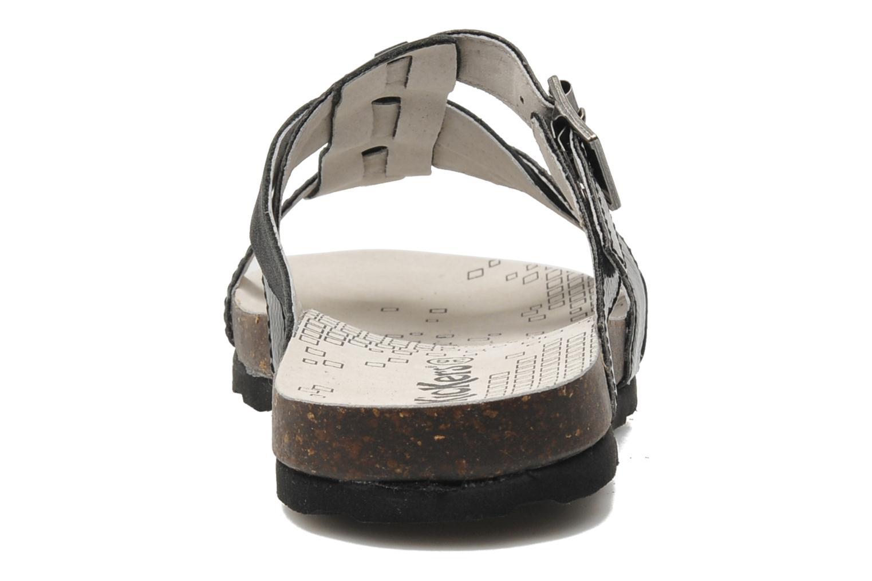 Sandalen Kickers Dolia schwarz ansicht von rechts