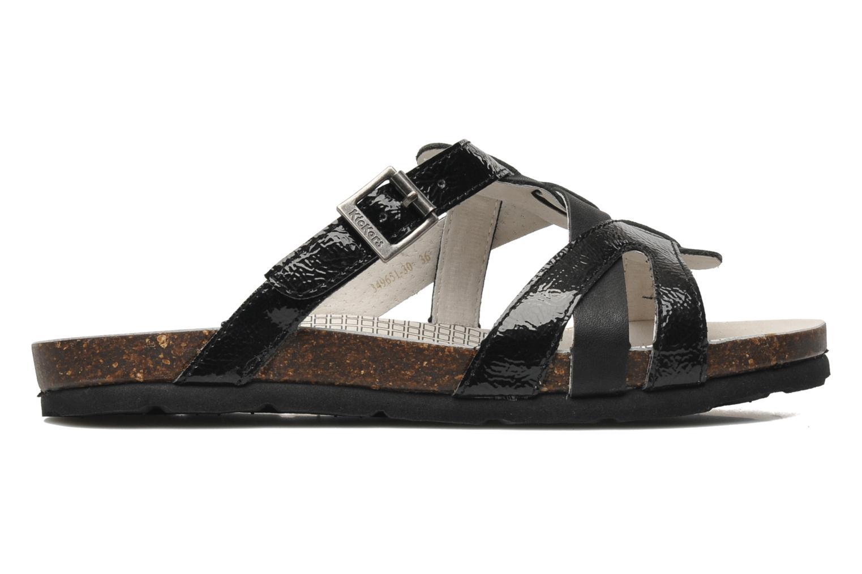 Sandales et nu-pieds Kickers Dolia Noir vue derrière