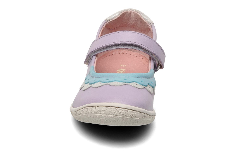 Ballerinas Kickers Cakegirl lila schuhe getragen