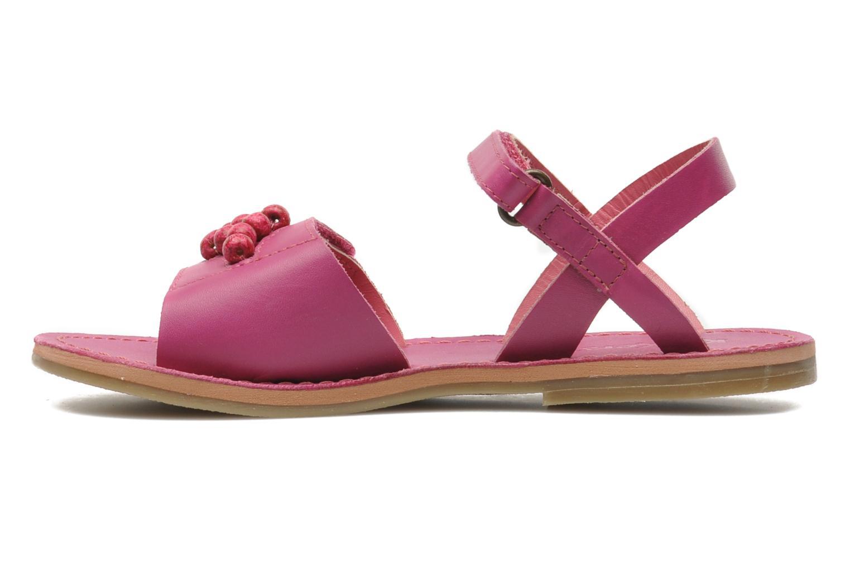 Sandalen Kickers Parma Roze voorkant