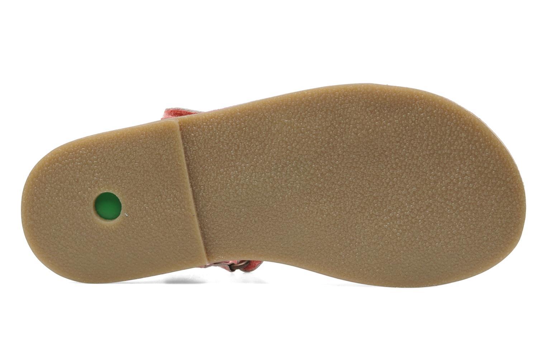 Sandales et nu-pieds Kickers Parapluie Rose vue haut