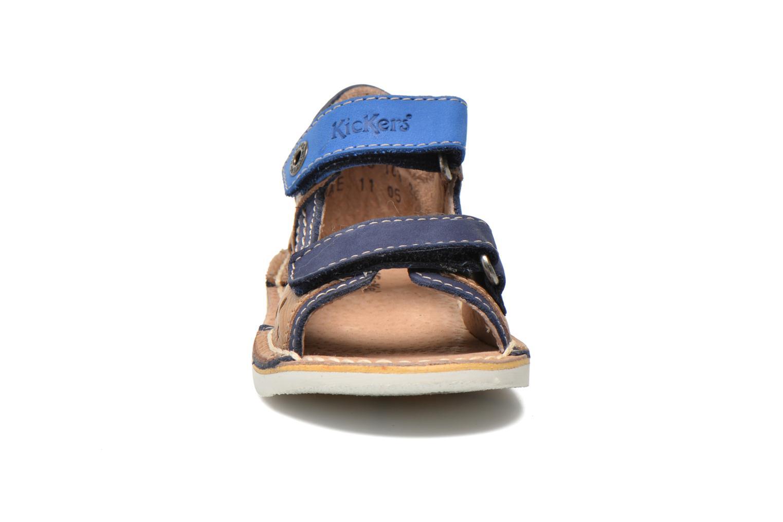 Sandalen Kickers Wasabi Bis blau schuhe getragen