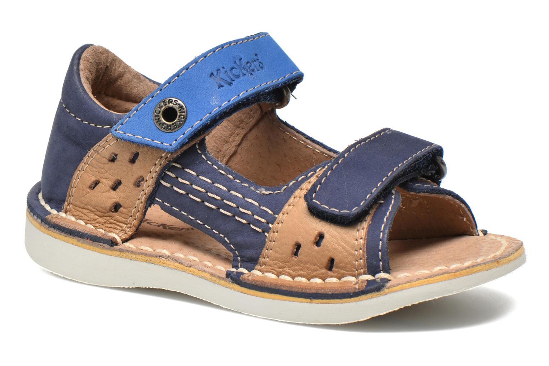 Sandalen Kickers Wasabi Bis blau detaillierte ansicht/modell