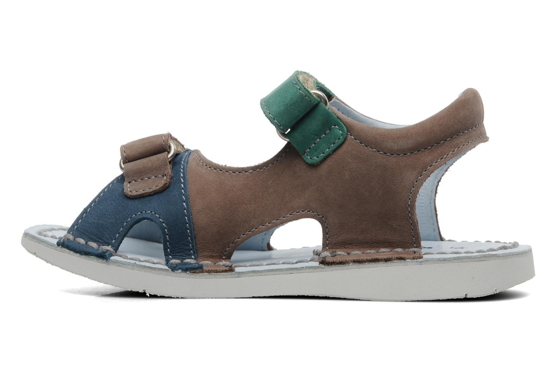 Sandalen Kickers Woazaki Bis Grijs voorkant