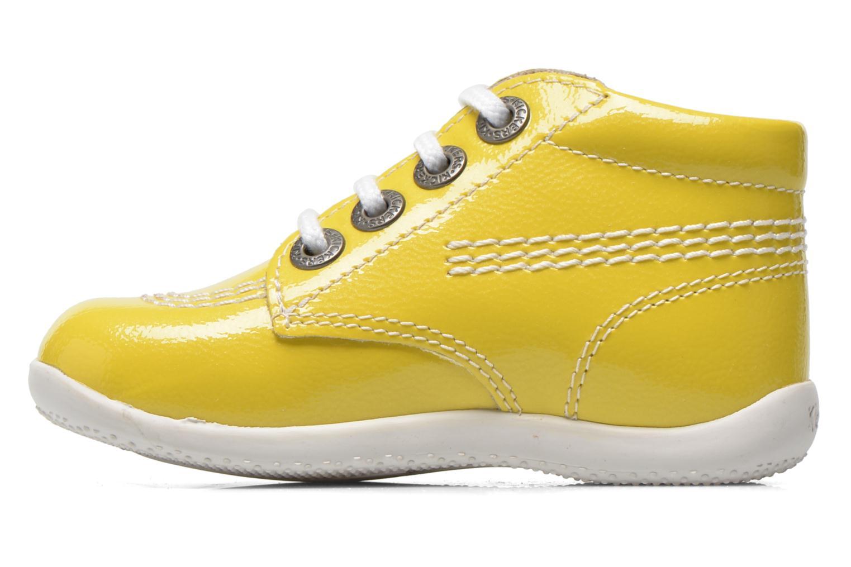 Boots en enkellaarsjes Kickers Billista Geel voorkant