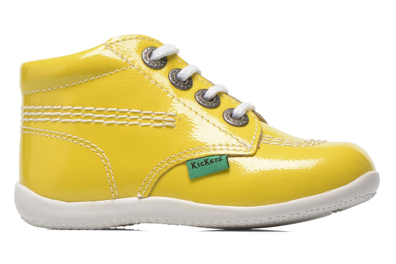 Boots en enkellaarsjes Kickers Billista Geel achterkant