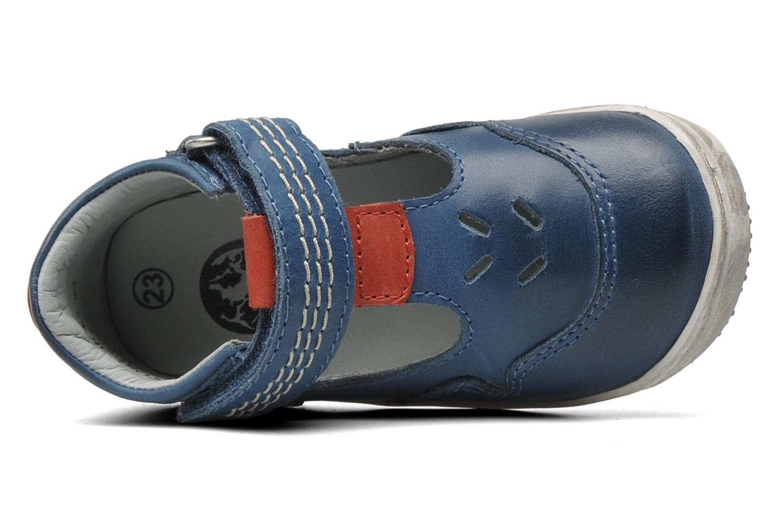 Sandalen Kickers Gusto Blauw links
