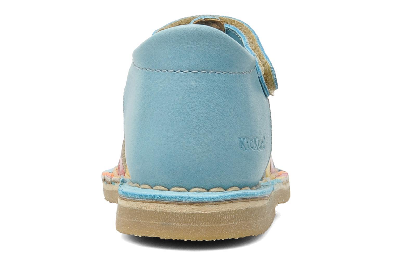 Sandales et nu-pieds Kickers Colmari Bleu vue droite