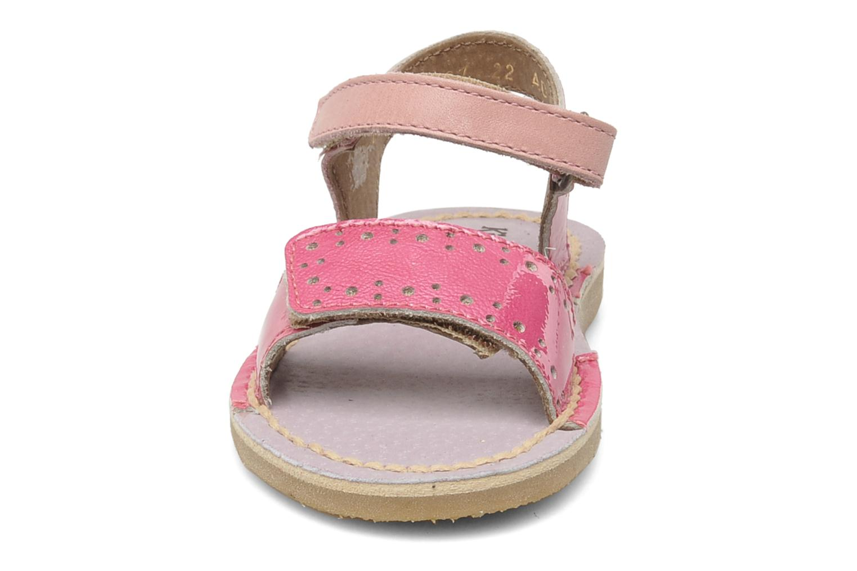 Sandalen Kickers Cerise Roze model
